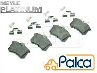 VW リアブレーキパッド 高制動PD品 A6/4B,C5 A8,4D/3.7 4.2 TT/8N オールロードクワトロ/4B,C5 S3/8L S6/4B S8/4D マイレ製 1J0698451R 3B0698451A 8E0698451L