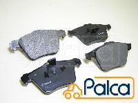ボルボ (フロント ブレーキ ディスク パッド 16.5〜17.5インチ用) S60II,S80II,V70III,XC70II ギャラクシー,S-MAX